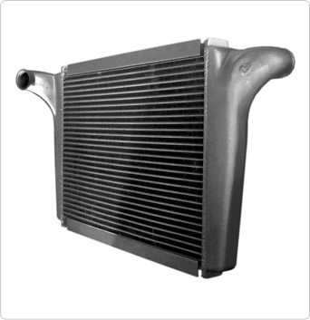 Intercooler Mercedes Benz Atego