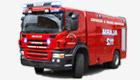 Repuestos para camión de bomberos
